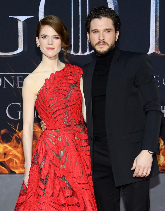 **Kit Harington and Rose Leslie:** Turner was a guest at their 2018 wedding, so it's likely she will return the favour.