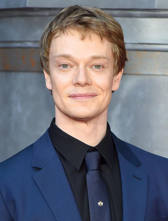 **Alfie Allen:** Just like their characters on *Game of Thrones*, Turner has a close bond with Allen, AKA Theon Greyjoy.