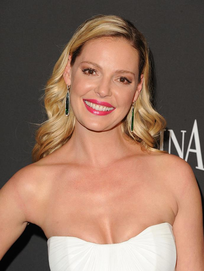 **Katherine Heigl**<br><br>  Heigl was 25 when she started smoking but admits she immediately became addicted. She briefly quit, but took it back up again when she scored her role in *Knocked Up*. Her ensuing attempts to quit ended in vain, and in 2016 she revealed she had switched to vaping.