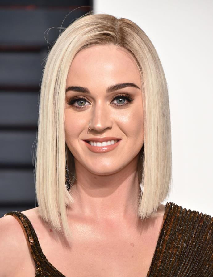 **Katy Perry**<br><br>  Perry has been snapped smoking on multiple occasions, and reportedly used the habit to manage her stress while she was planning her wedding to Russell Brand back in 2010. However, she has not been seen doing so since their breakup, nine years ago.