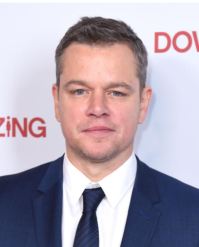 "**Matt Damon**<br><br>  Despite his well-behaved dad vibes, Damon still dabbles in an occasional cigarette, even though he officially quit years ago after seeing a hypnotist. ""He taught me that the reason you finally quit is because you look at what cigarettes do to you,"" Damon told *Parade* magazine of the hypnotism. ""Once you realise the consequences, it's no longer an option for you to smoke. I think that applies to any addiction."""
