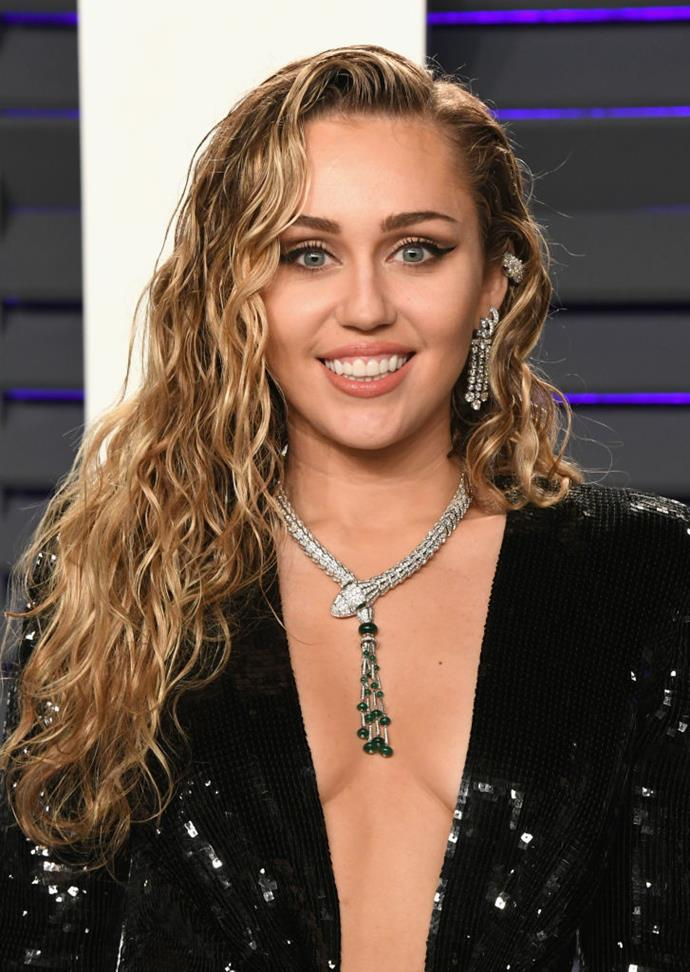 "**Miley Cyrus**<br><br>  The singer dabbles in smoking joints, and has struggled on and off with quitting tobacco. ""2 months no cigs,"" she tweeted in 2014. ""#proudofmyself"""