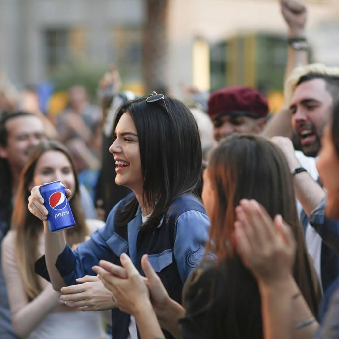 "**Kendall Jenner's Pepsi campaign** <br><br> In 2017, Kendall Jenner was revealed to be the newest spokesperson for [Pepsi](https://www.elle.com.au/celebrity/kendall-jenner-pepsi-commercial-controversy-5653|target=""_blank""). Soon after, Jenner starred in a commercial for the soft drink company, where she used a can of Pepsi to bring peace to a street demonstration. <br><br> Within hours, the commercial was completely panned, with critics taking aim at its superficial and insensitive message. Jenner herself never issued a public apology, until she admitted in an episode of *Keeping Up With The Kardashians* that the experience made her feel ""so f--king stupid."""