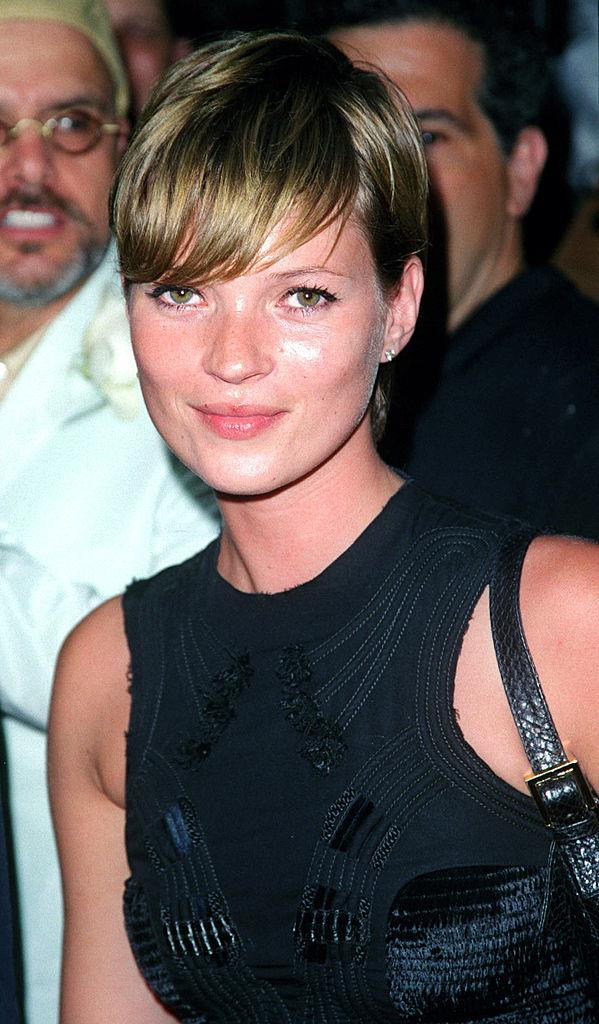 **Kate Moss:** The supermodel sparked a thousand copycats when she opted for this fresh, modern cut in 2001.