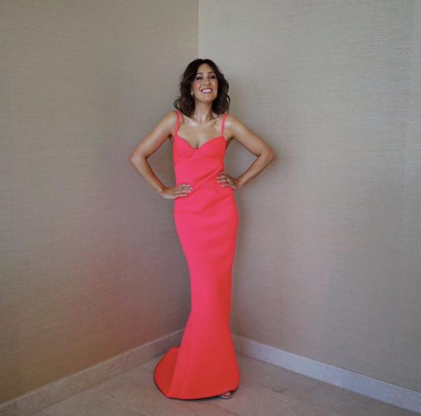 Zoe Foster Blake in Cappellazzo Couture