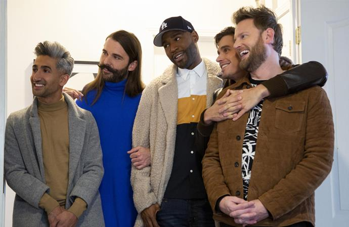 "***Queer Eye*: Season 4 (19/07/2019)** <br><br> Grab some tissues! An all-new ""Fab Five"" serve up hip tips, emotionally charged makeovers and heartfelt reveals that bring out all the feels."