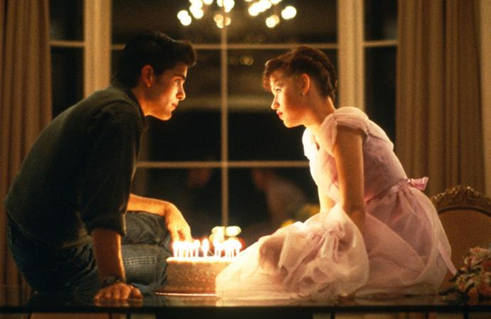 "***Sixteen Candles* (1/07/2019)** <br><br> A girl's ""sweet"" sixteenth birthday becomes anything but special as she suffers from every embarrassment possible."