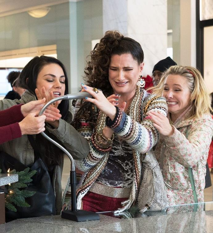 ***Bad Moms 2* (from 30/07/2019):** As their own mothers drop in unexpectedly, our three under-appreciated and over-burdened moms rebel against the challenges and expectations of the Super Bowl for mothers: Christmas.