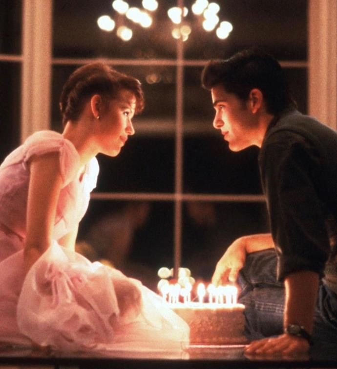 "***Sixteen Candles*:** A girl's ""sweet"" sixteenth birthday becomes anything but special as she suffers from every embarrassment possible."