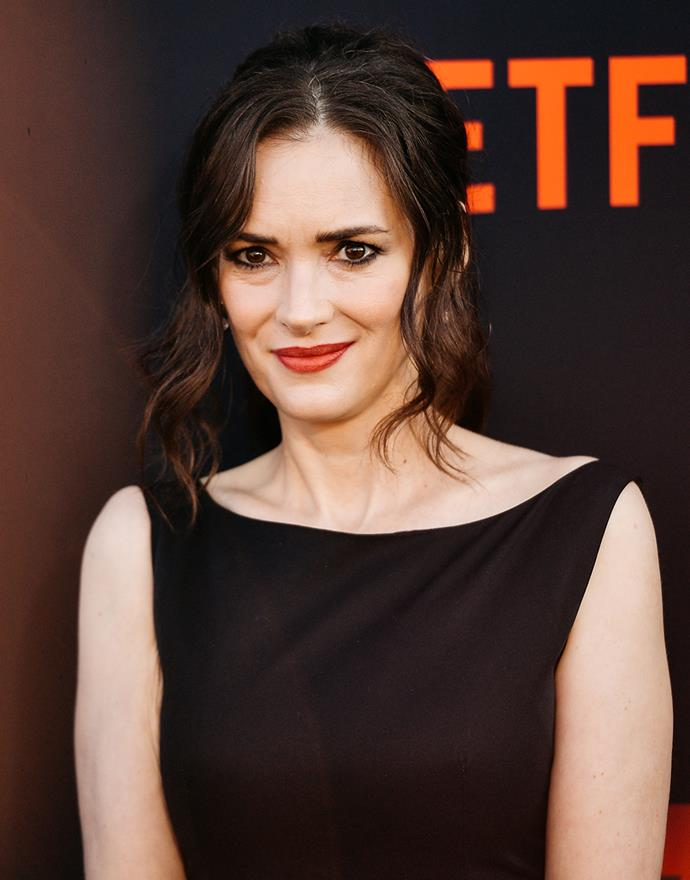 **Winona Ryder as Joyce Byers** <br><br> What would *Stranger Things* be without Winona Ryder? The actress is back as Joyce Byers, the beleaguered mother of Jonathan and Will Byers. Season 3 sees Joyce back working at a struggling hardware store (the new mall in town is bad for business) and once again perturbed by some mysterious goings-on in Hawkins. Plus, there's still the will-they-won't-they storyline she shares with Chief Hopper. <br><br> Ryder is easily the biggest star to be cast in the show, after starring in numerous late '90s films ike *Edward Scissorhands* and *Beetlejuice*. Her supernatural cinema cred made her the perfect candidate to playing Joyce, and the show's success has seen Ryder have something of a comeback.  <br><br> *Instagram: Ryder isn't on Instagram, but of course there are plenty of fan accounts out there in her honour.*