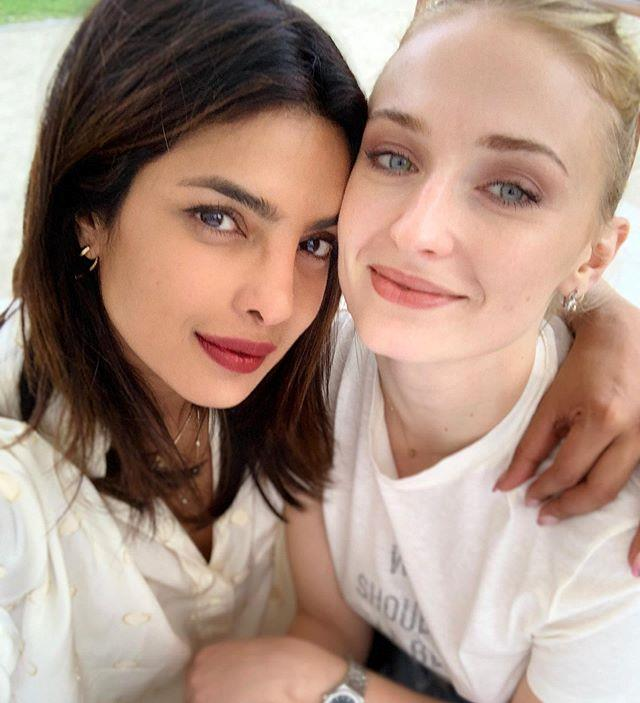 "2019, with sister-in-law [Sophie Turner](https://www.elle.com.au/celebrity/sophie-turner-joe-jonas-wedding-guests-20767|target=""_blank"")."