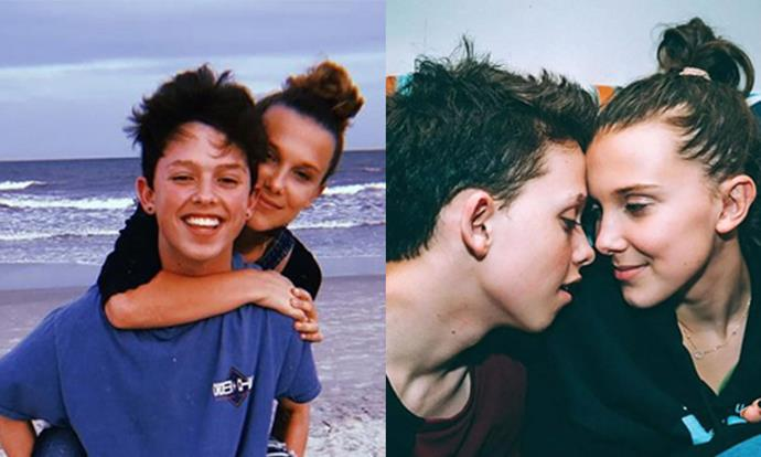 **Millie Bobby Brown** <br><br> The 15-year-old actress, who plays Eleven on the show, famously dated popular Vine star Jacob Sartorious for a year, starting in 2017. Following their alleged split, Brown deleted most traces of Sartorious from her Instagram account. <br><br> *Images: Instagram @milliebobbybrown*