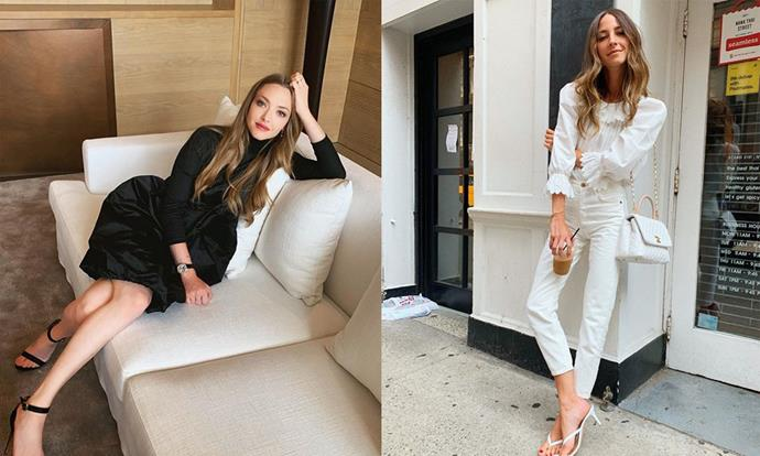 "**Amanda Seyfried and Arielle Charnas** <br><br> In July 2019, *Mamma Mia* actress Seyfried took to [Instagram](https://www.instagram.com/p/Bzt9AEhAHS8/|target=""_blank""