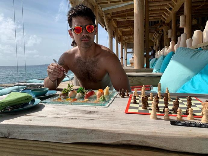 Chess and sushi, anyone?