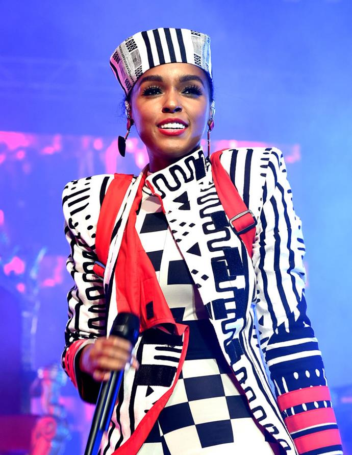 """**Janelle Monae**<br><br>  The """"PYNK"""" singer opened about her sexuality upon the release of her release of her album *Dirty Computer* in 2018 in an interview *Rolling Stone*. Speaking candidly about the rumours surrounding her sexual orientation, Monae stated:<br><br>  """"Being a queer black woman in America, someone who has been in relationships with both men and women—I consider myself to be a free-ass motherfucker.""""<br><br>     She also revealed that she formerly identified as bisexual, """"but then later I read about pansexuality and was like, 'Oh, these are things that I identify with too.' I'm open to learning more about who I am."""""""