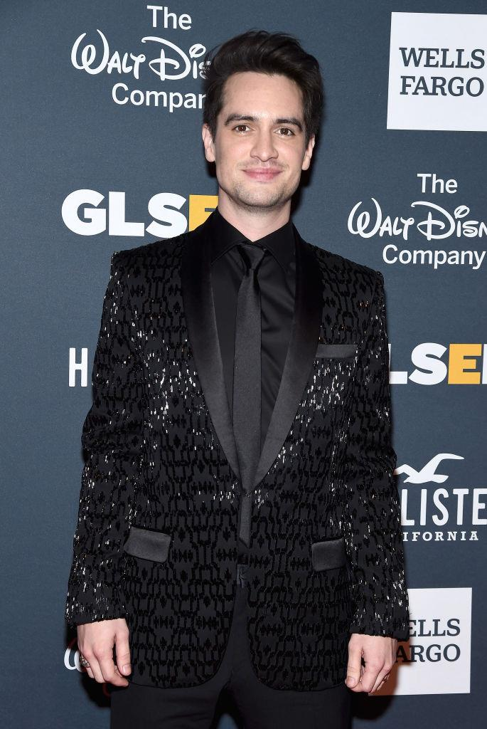 """**Brendon Urie**<br><br>  The lead singer of Panic! At The Disco came out as pansexual in a 2018 interview with *[Paper](http://www.papermag.com/brendon-urie-lays-it-all-out-2584081623.html?rebelltitem=3#rebelltitem3