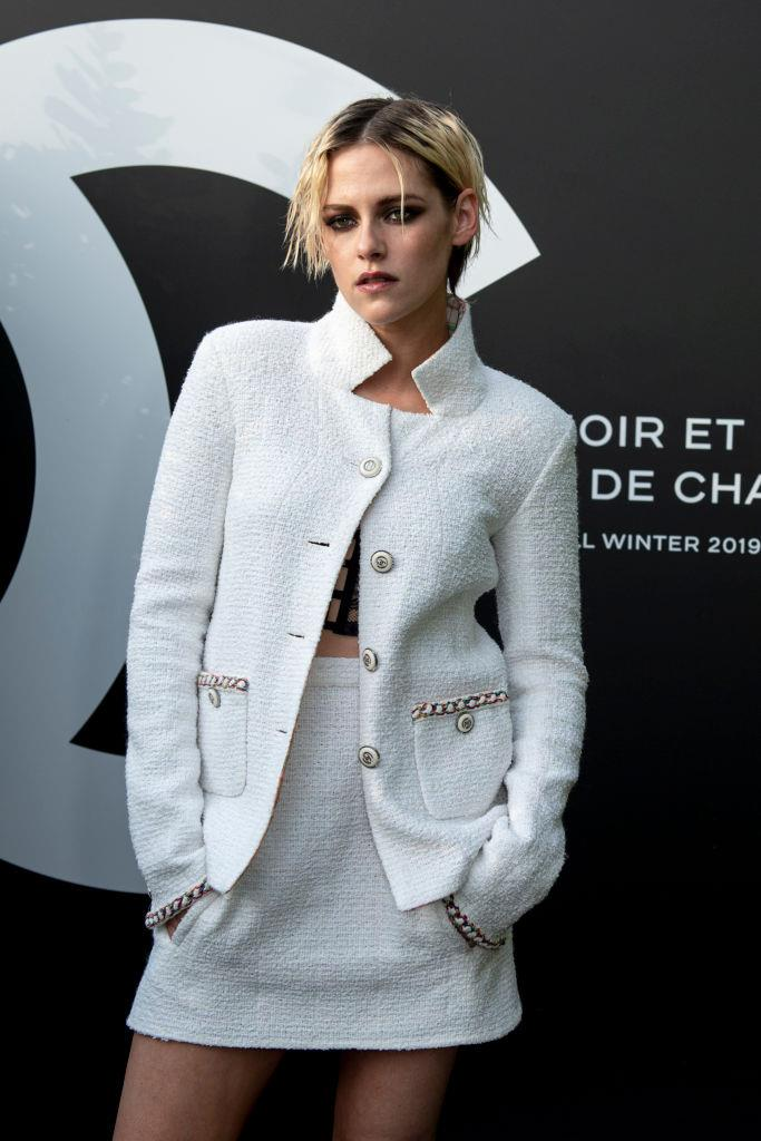 """**Kristen Stewart**<br><br>  Despite never outright calling herself pansexual publicly, Stewart is widely considered one of the leaders of the [pansexuality movement](https://www.elle.com/life-love/sex-relationships/interviews/a29800/kristen-stewart-sexuality/