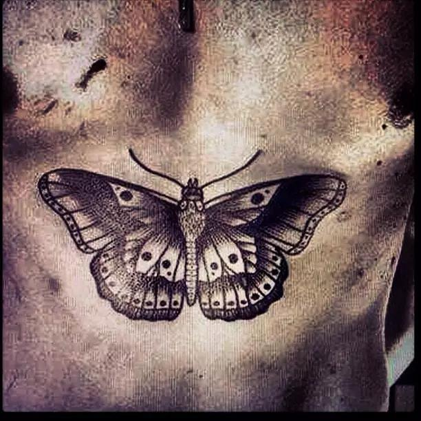 Remember Harry Styles' huge butterfly/moth?