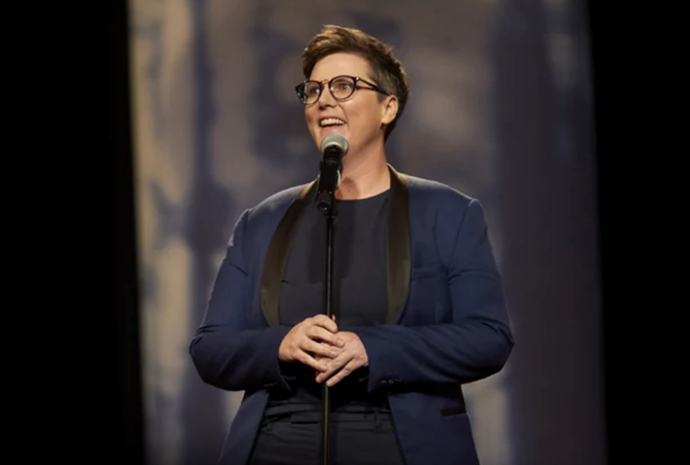 ***Nanette*** **by Hannah Gadsby**<br><br>  Australia's own Hannah Gadsby made waves all around the world when she released *Nanette* in 2018. Lauded internationally for her brilliance, this game-changing special takes aim at toxic culture, the patriarchy and homophobia in a way that will leave you speechless.