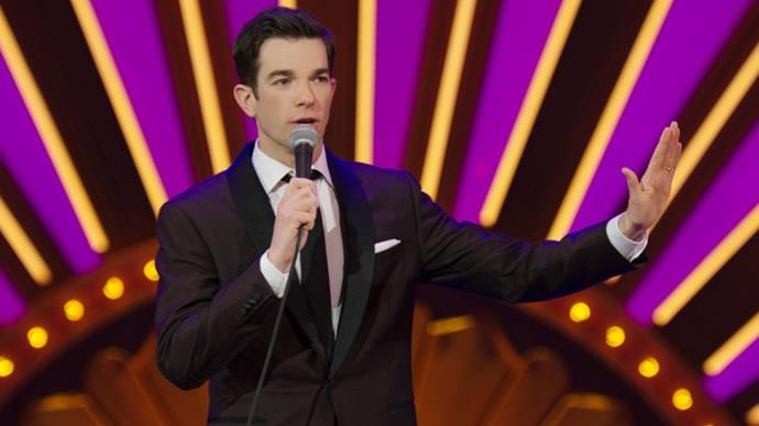 ***Kid Gorgeous*** **by John Mulaney**<br><br>  Staged in New York's famous Radio City Hall, *Saturday Night Live* alum John Mulaney rips on society's fixation with going to university, his family and talks Trump.