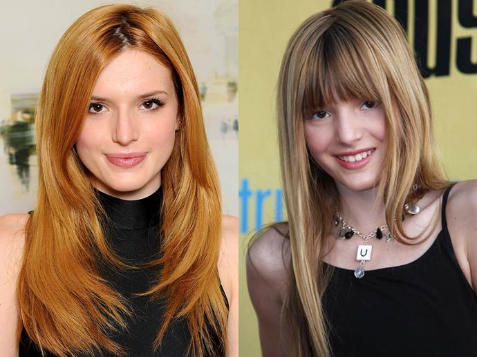 "**Bella Thorne**<br><br>  Although she's had red locks for much of her career, Thorne's look is courtesy of dye and far from natural.<br><br>  ""A lot of people don't know I'm not actually a redhead. I'm a blonde. I dyed it for *Big Love*,"" she told *[Allure](https://www.allure.com/story/bella-thorne-hair-color