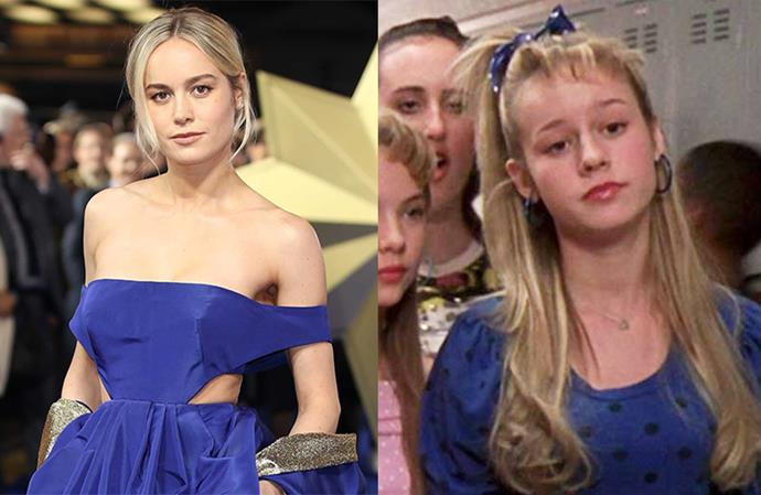 "**Brie Larson in *Suddenly 30*** <br><br> Like Ashley Benson, Larson was a mean girl in *Suddenly 30*, starring along with her future *Avengers* co-star Mark Ruffalo (see Ruffalo react to learning this information [here](https://www.elle.com.au/celebrity/mark-ruffalo-brie-larson-suddenly-30-20330|target=""_blank""))."
