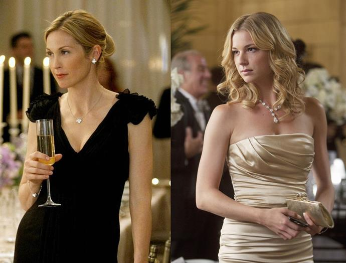 "**Emily Vancamp as Lily van der Woodsen 2.0** <br><br> Having already played a member of the upper echelon in *Revenge*, Emily Vancamp's withering stare and always-looks-blow-dried hair make her our first pick to play Serena's well-meaning (but kind of terrible) mum. <br><br> [@emilyvancamp](https://www.instagram.com/emilyvancamp|target=""_blank"")"