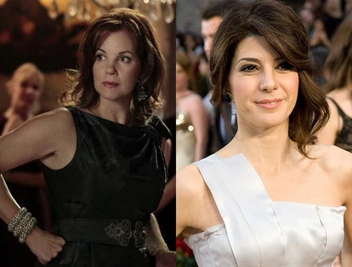 "**Marissa Tomei as Eleanor Waldorf 2.0** <br><br> Marissa Tomei has won a BAFTA, two Golden Globe Awards, and three Screen Actors Guild Awards, so it is unlikely she would take this particular role as Blair Waldorf's mother 2.0. But we can dream. <br><br> [@marisatomei](https://www.instagram.com/marisatomei|target=""_blank"")"