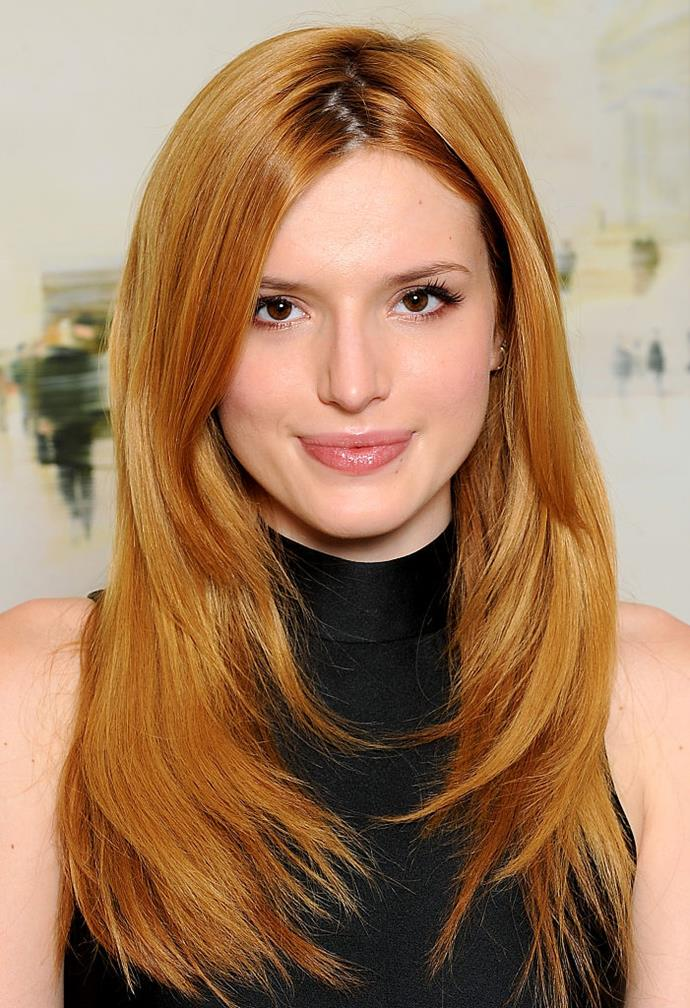 """**Bella Thorne**<br><br>  Although she came out as bisexual on Twitter in 2016, Thorne recently stated that she no longer identifies with that label.<br><br>  """"I'm actually pansexual, and I didn't know that,"""" Thorne said in an interview with *[Good Morning America](https://www.goodmorningamerica.com/culture/story/bella-thorne-pansexual-opens-overcoming-abuse-bullying-64472878