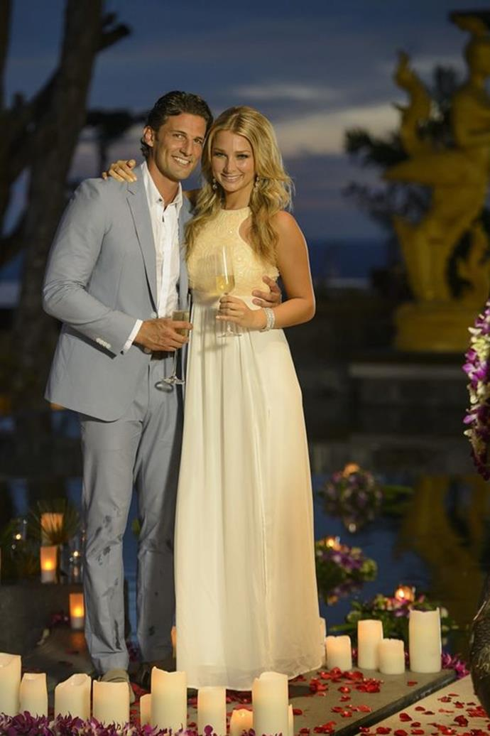 "**1. Tim Robards' season of** ***The Bachelor Australia***<br><br>  What can we say? All roads take us back to where it began. This one scores on so many fronts. Let's start with the Bachie himself. Tim was the original and arguably the best Bachelor. He was kind, smart, respectful and made for a brilliant start to the Aussie franchise.<br><br>  Secondly, he and Anna Heinrich are [still together](https://www.elle.com.au/celebrity/tim-robards-anna-heinrich-relationship-13233|target=""_blank"") and had the most heavenly-looking wedding in Italy last year.<br><br>  And, although they ended up together, the season gave us plenty of us suspense as we wondered whether he would choose between Anna or Rochelle throughout the series.<br><br>  This season also introduced us to last year's *Bachelorette Australia*, Ali, who was particularly entertaining during Tim's round as Bachie.<br><br>   **Score:**<br><br>  * The Bachelor himself—10 * The ending—10 * The entertainment value—9<br><br>  *Total score: 29*"