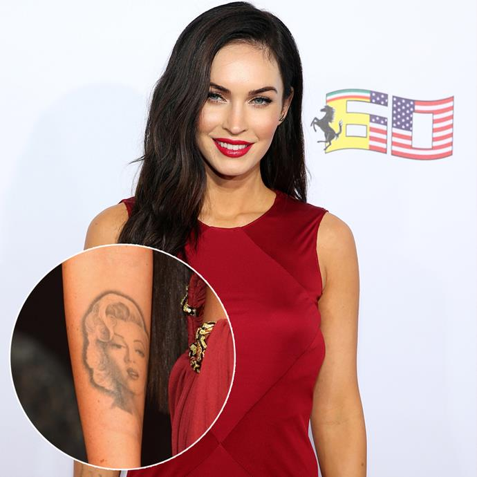"***Megan Fox***<br><br> At the height of her *Transformers* fame, Megan Fox's Marilyn Monroe portrait was as famous as she was. Since then, she's started the process of removing it as it has 'negative energy.'<br><Br>  ""I'm removing it. It is a negative character, as she suffered from personality disorders and was bipolar,"" said Fox. ""I do not want to attract this kind of negative energy in my life."""