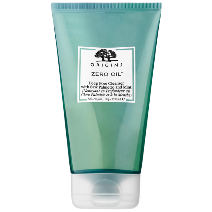"Zero Oil Deep Pore Cleanser, $23.50, Origins at [Sephora](https://www.sephora.com/product/zero-oil-deep-pore-cleanser-P297541|target=""_blank"")."