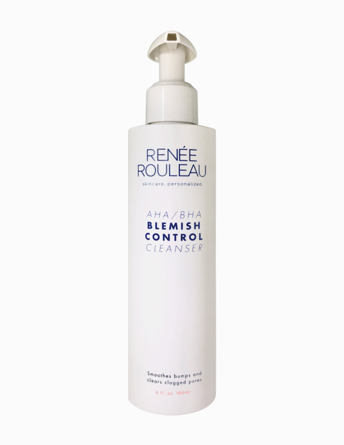 "AHA/BHA Blemish Control Cleanser, $33.50, [Renee Rouleau](https://www.reneerouleau.com/collections/cleansers/products/aha-bha-blemish-control-cleanser|target=""_blank"")."