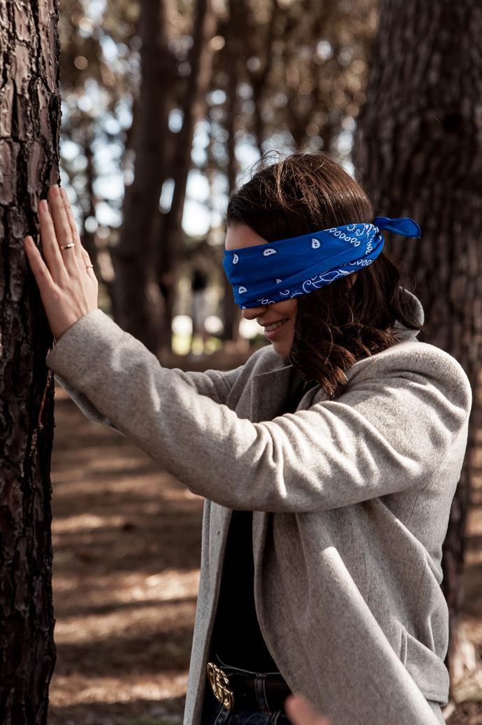 Blindfolded tree discovery was not something we expected to do when we woke up that morning, but we highly recommend it.