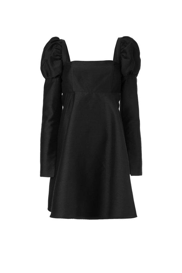 "Dress by Macgraw, $895 at [Farfetch](https://www.farfetch.com/au/shopping/women/macgraw-swifts-dress-item-13589055.aspx?storeid=10202&size=21&utm_source=google&utm_medium=cpc&utm_keywordid=113766579&utm_shoppingproductid=13589055-4950&pid=google_search&af_channel=Search&c=1878416368&af_c_id=1878416368&af_siteid=&af_keywords=aud-301601826387:pla-725264680559&af_adset_id=71127297798&af_ad_id=349125157159&af_sub1=113766579&af_sub5=13589055-4950&is_retargeting=true&shopping=yes&foundit=yes&gclid=EAIaIQobChMI557D9eTb4wIV2YBwCh0t8g5OEAQYGiABEgI3J_D_BwE|target=""_blank""