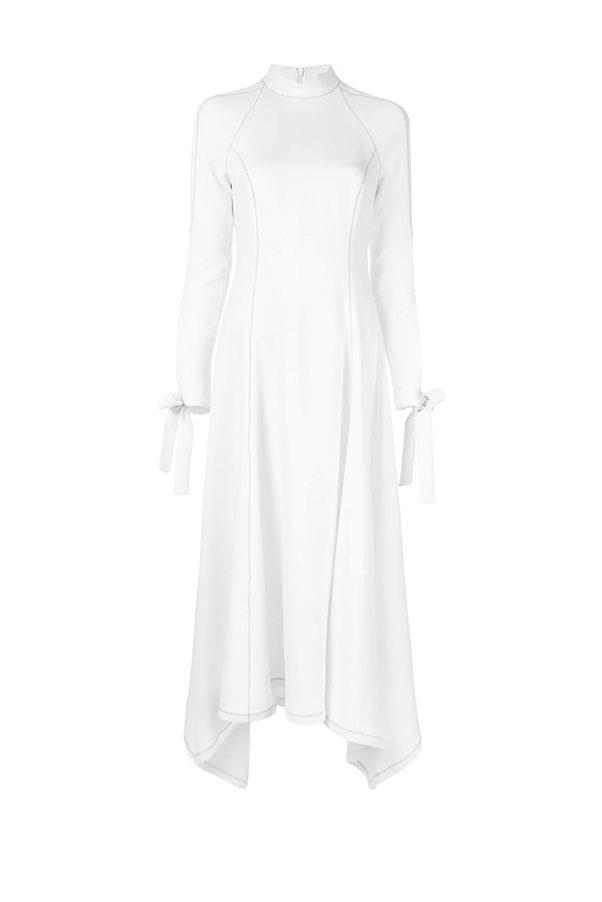 "Dress by Camilla and Marc, $750 at [Farfetch](https://www.farfetch.com/au/shopping/women/camilla-and-marc-rae-crepe-midi-dress-item-13954378.aspx?storeid=11752|target=""_blank""