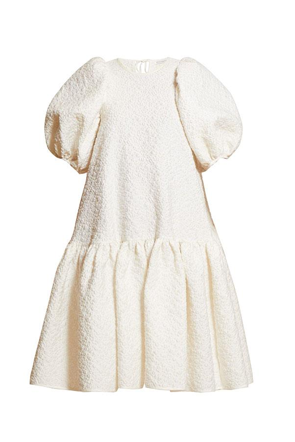 "Dress by Cecilie Bahnsen, $1,645 at [MATCHESFASHION.COM](https://www.matchesfashion.com/au/products/Cecilie-Bahnsen-Alexa-puffed-sleeve-cloqu%C3%A9-dress-1295569|target=""_blank""