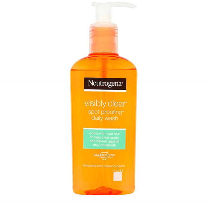 "**The original** <br><br> If Neutrogena wasn't your first cleanser then you really missed out. Though many of us moved on to expand our horizons, this OG set a standard for cleansers. With its easy pump bottle, gel-to-foam consistency and budget-friendly price tag, this is a great introduction to the world of salicylic acid. <br><br> Visibly Clear Spot Proofing Daily Wash, $14.99, Neutrogena at [Chemist Warehouse](https://www.chemistwarehouse.com.au/buy/86463/neutrogena-visibly-clear-spot-proofing-daily-wash-200ml|target=""_blank"")"