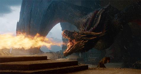 'Game Of Thrones' Finale Script Reveals Why Drogon Burned The Throne | ELLE Australia