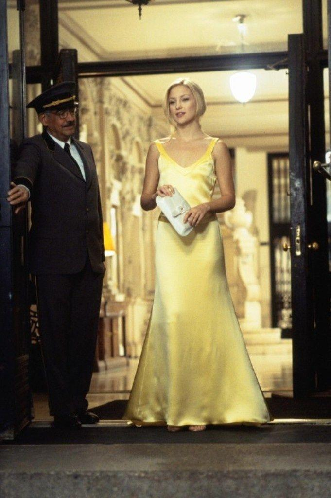 For the film's climax, Hudson looked absolutely impeccable in this yellow satin gown, fitted to perfection. However, the best part of the dress wasn't the stellar front, but the daring low-cut back. <br><br> *Image: IMDb*