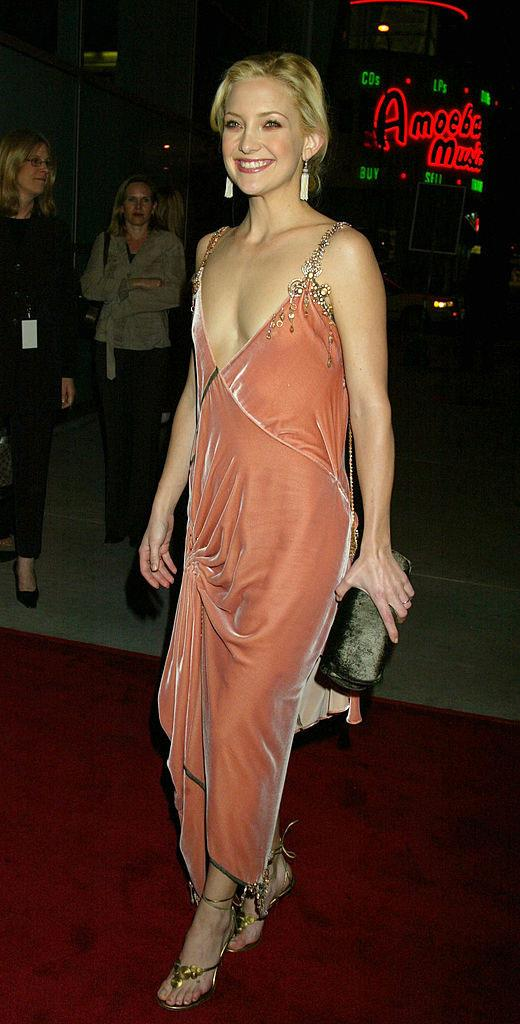 Plus, a moment of appreciation for Hudson's velvety ruched dress at the film's premiere in 2003, which gave us all of the sexy flapper vibes. <br><br> *Image: Getty*