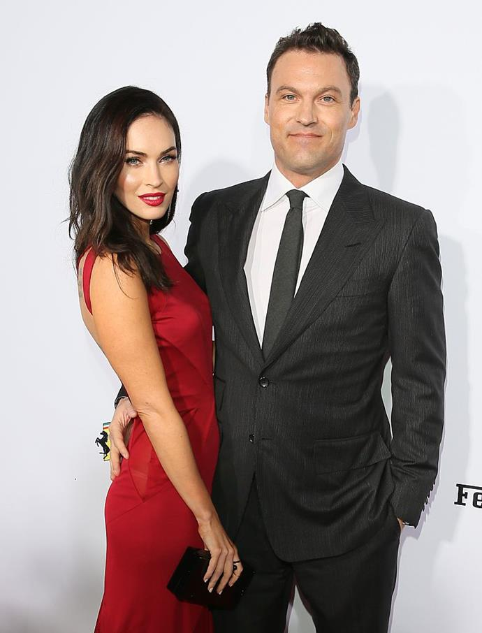 "**Megan Fox and Brian Austin Green**<br><br>  Actors Megan Fox and Brian Austin Green allegedly had a one-sided open relationship at one stage, with Fox allowed the freedom for a fling outside of their marriage. <br><br>  ""They've agreed to an open relationship where Megan can see other men but Brian can't date anyone else,"" a source reportedly [told](https://www.nydailynews.com/entertainment/gossip/newsstand-junkie-kate-gossipin-jon-pal-hailey-article-1.427145