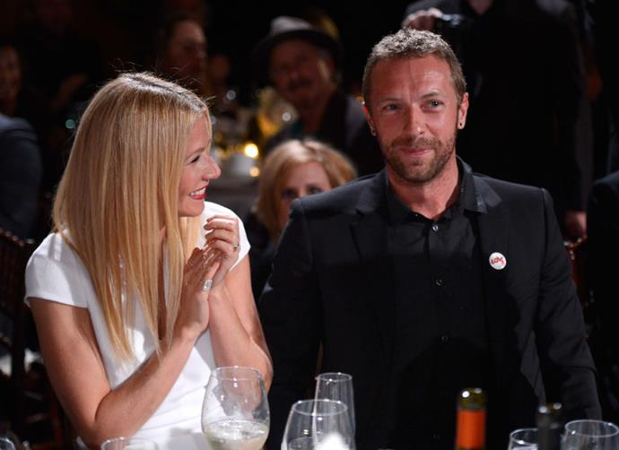 "**Gwyneth Paltrow and Chris Martin**<br><br>  As famous for their 'conscious un-coupling' as they were for their, uh, coupling, Gwyneth Paltrow and Chris Martin [reportedly](https://people.com/celebrity/gwyneth-paltrow-and-chris-martins-marriage-was-falling-apart-says-source/|target=""_blank""