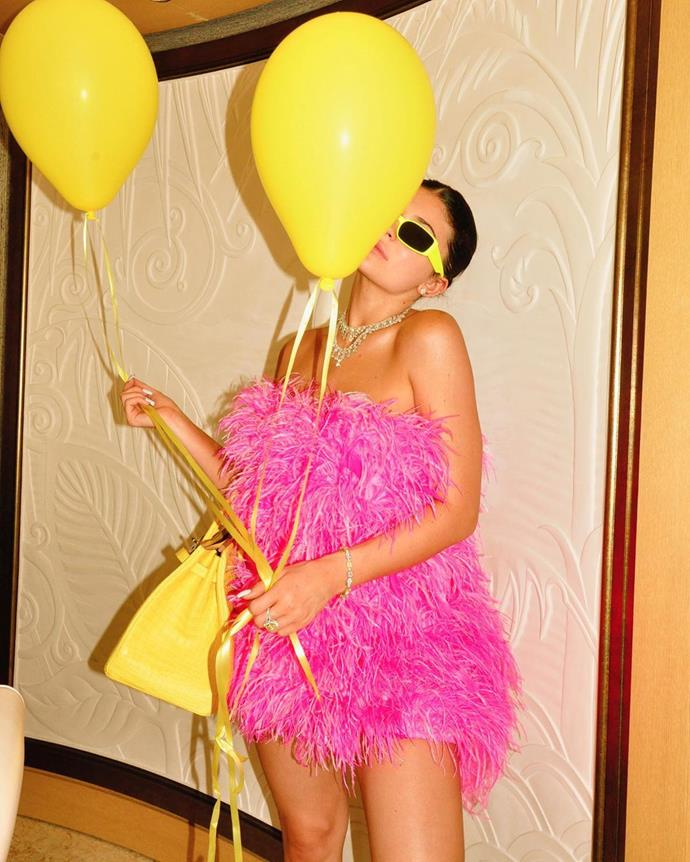 "The birthday girl.<br><br>  *Image via [@kyliejenner](https://www.instagram.com/p/B1BayPJnUKG/|target=""_blank""|rel=""nofollow"")*"