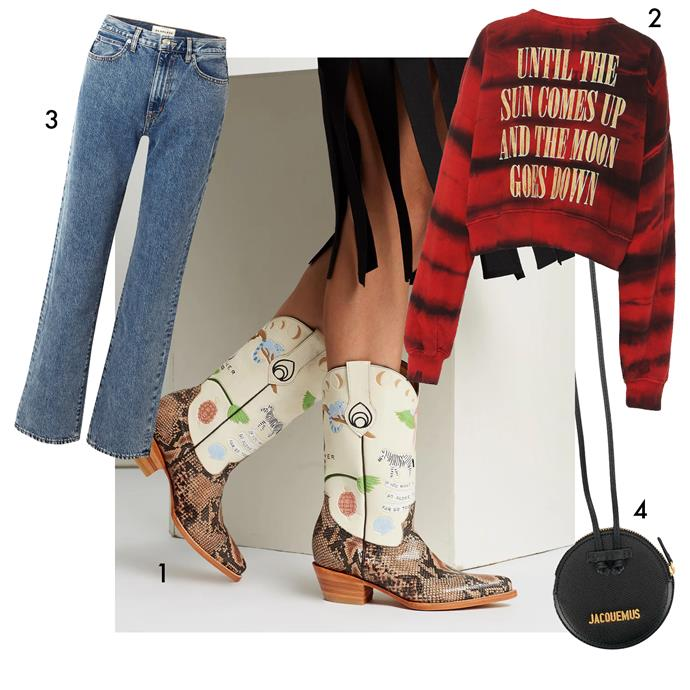 "1, Boots by Brother Vellies, $1,350 at [The Iconic](https://www.theiconic.com.au/doodle-boots-857888.html|target=""_blank""