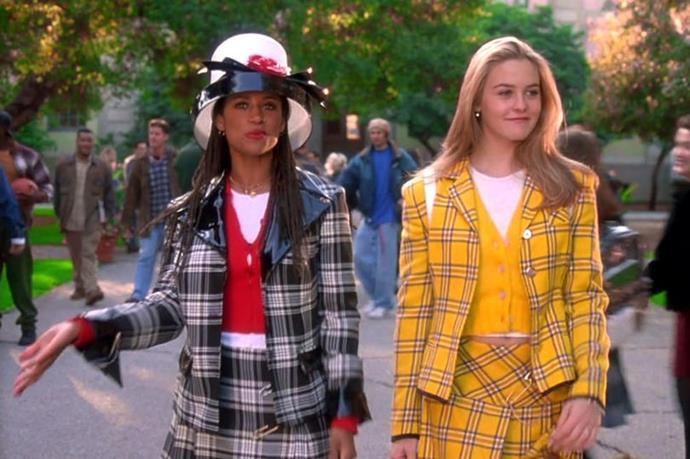 ***Clueless*** **(1995)**<br><br>  As iconic for its fashion as it was for the story, *Clueless* is quintessential '90s viewing. It tells the story of meddlesome Beverly Hills high school student Cher Horowitz, who gets a lot more than she bargained for when she gives a fashion-challenged student a makeover.