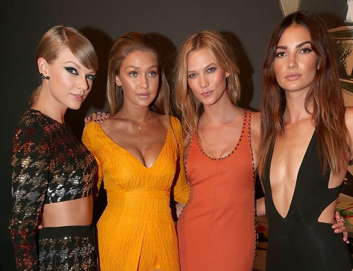 **August 2015 to September **<br><br>  In August, their friendship appeared to be closer than ever, with Kloss attending the 2015 MTV Music Awards alongside Swift.
