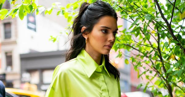 Kendall Jenner's New Jeans Are An Optical Illusion | ELLE Australia