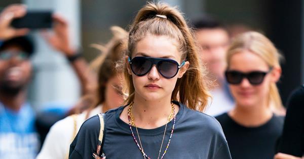Dad Shorts Trend: Gigi, Kendall & Kim Bring Back The '90s Look | ELLE Australia