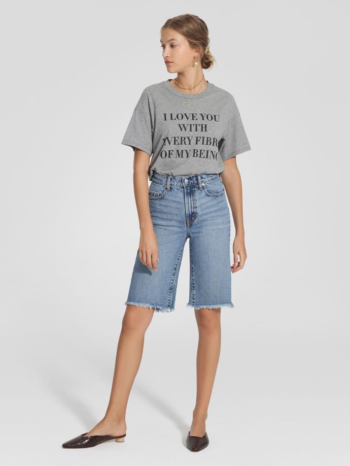 "'Tyler Short Long Creator' denim shorts, now $126 by [Nobody Denim](https://nobodydenim.com/tyler-short-long-creator|target=""_blank""|rel=""nofollow"")"